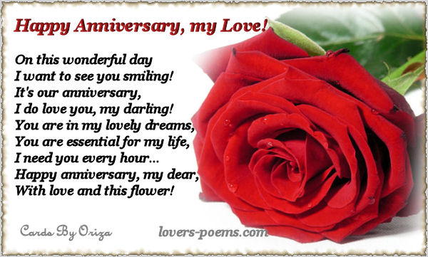 Anniversary Love Message