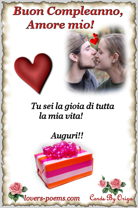 frasi d'amore compleanno