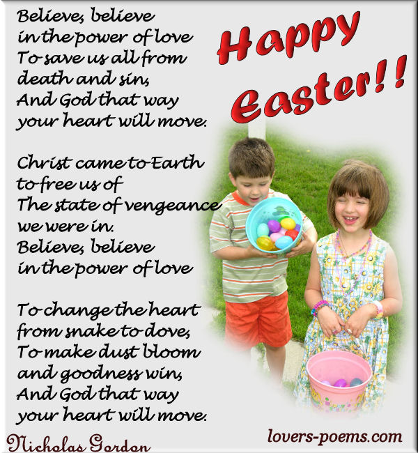 easter poems for kids - photo #10
