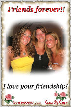 I love your Friendship!