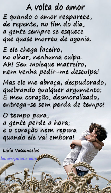 Poema de Lídia = A volta do Amor