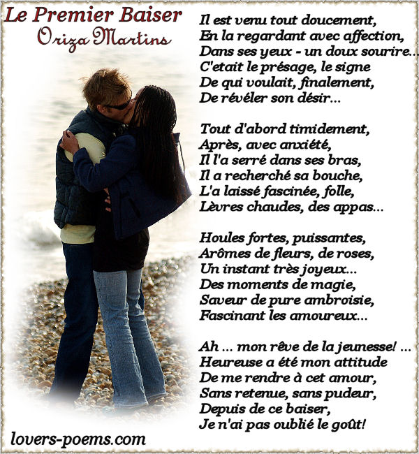 Anthologie poeme rencontre amoureuse
