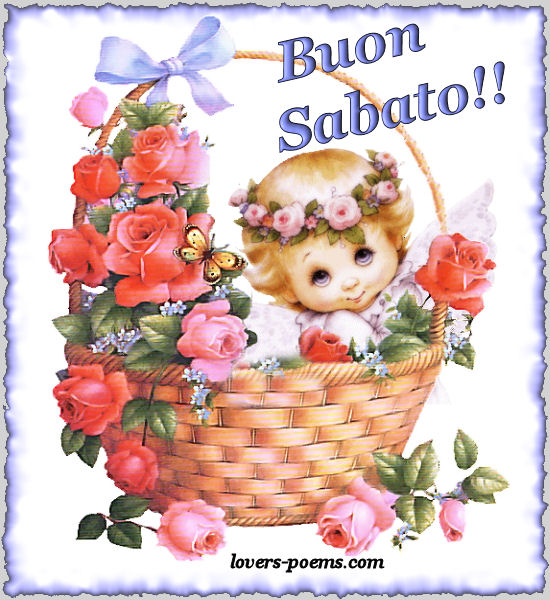 Top ITALIANO: Buon Sabato. Auguri! | oriza.net Portal - lovers-poems  VA46
